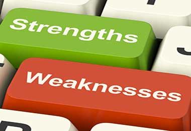 نقاط قوت و ضعف