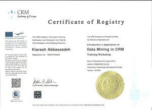 DataCertificate