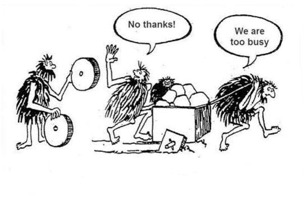 یا اختراع چرخ